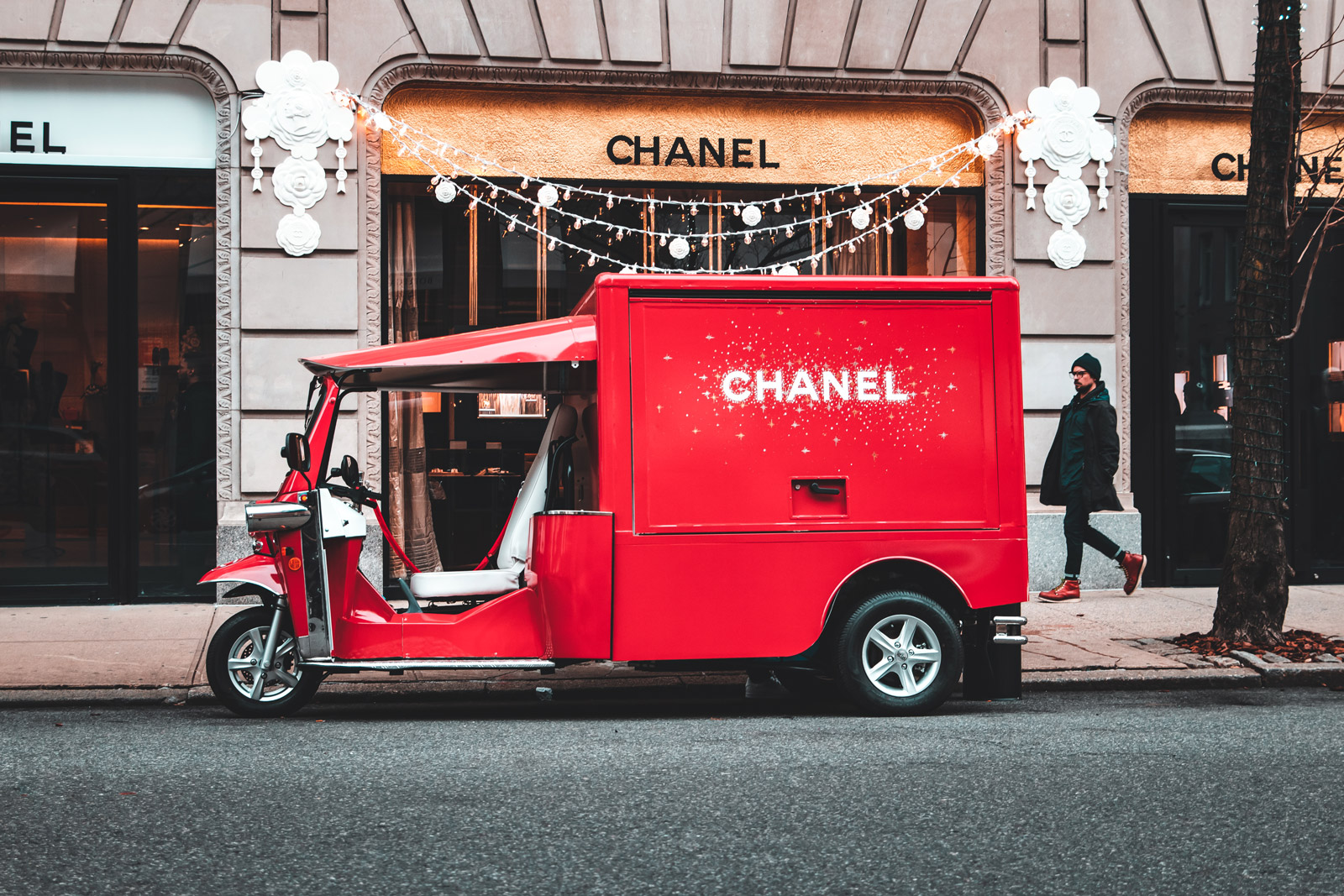 Chanel Red Tuk NYC case study