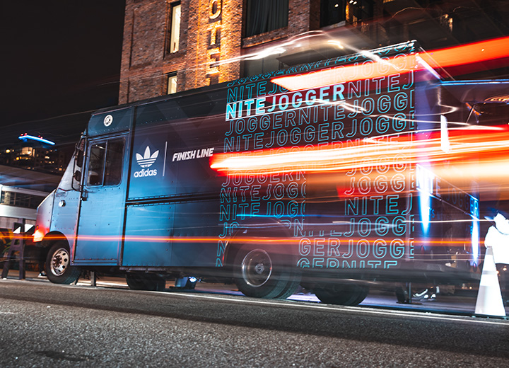 Food Truck Promotion's branded food truck example
