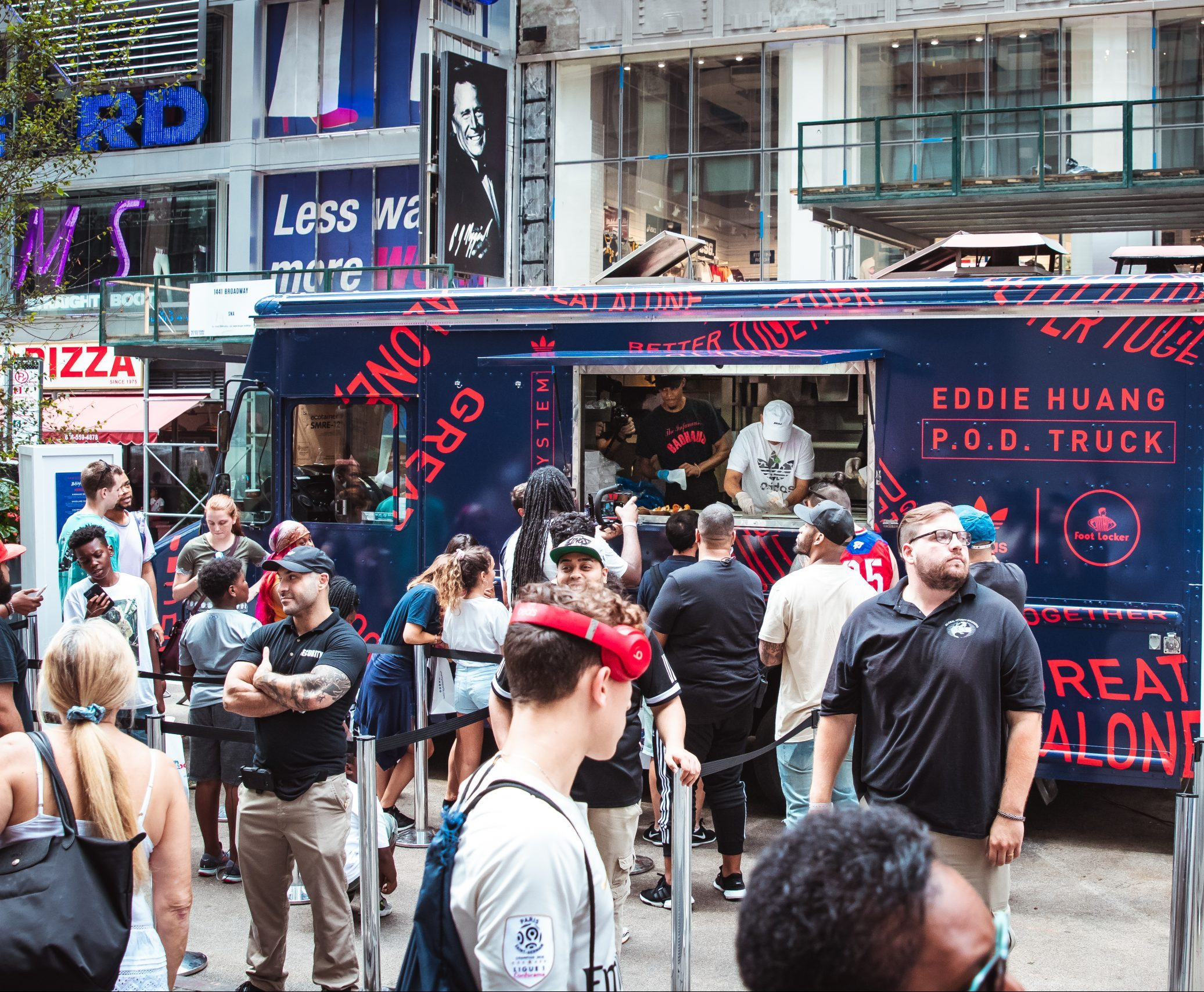 Adidas Food Truck Street Marketing Sneaker Launch