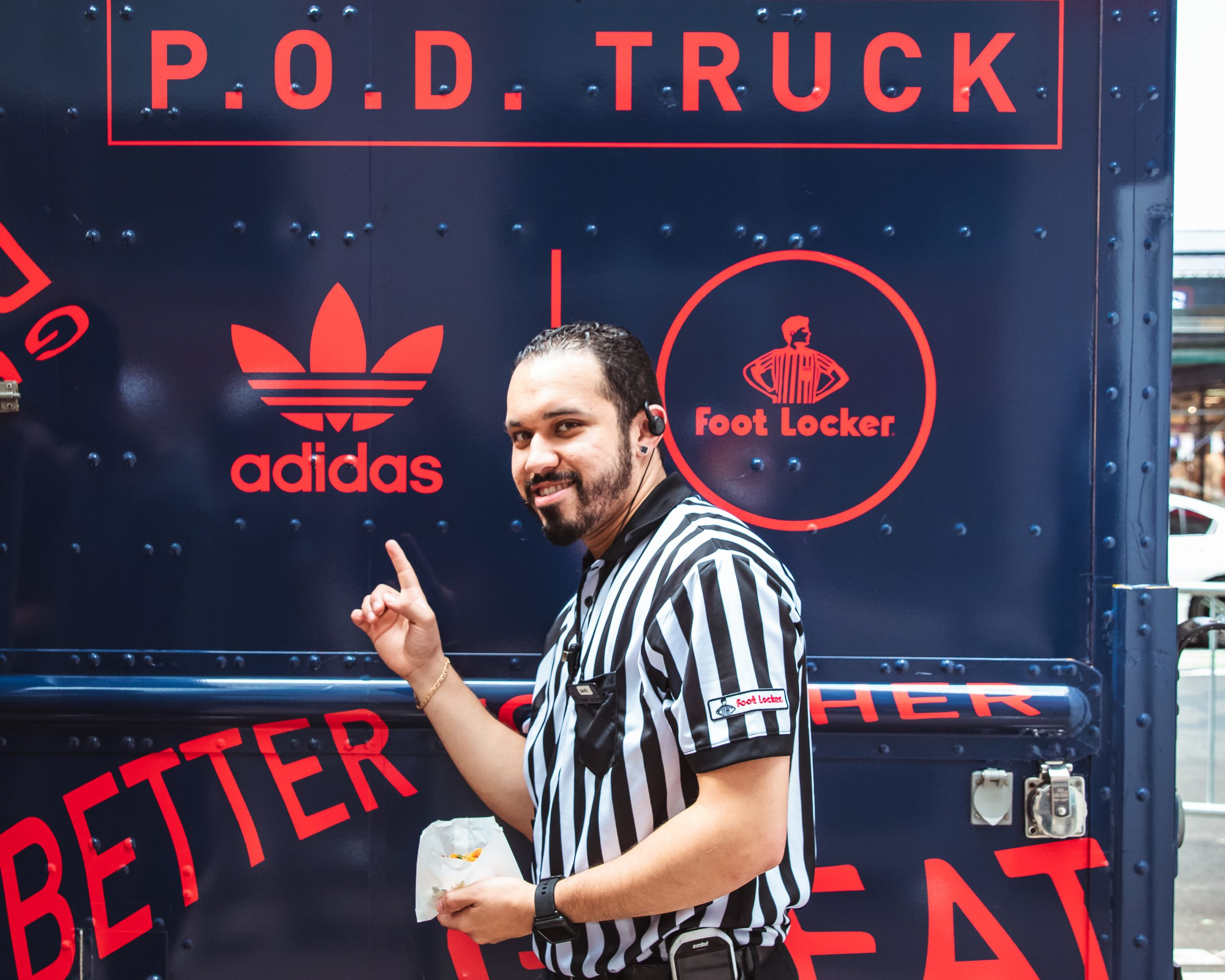 Adidas Food Locker Wrapped Food Truck Example
