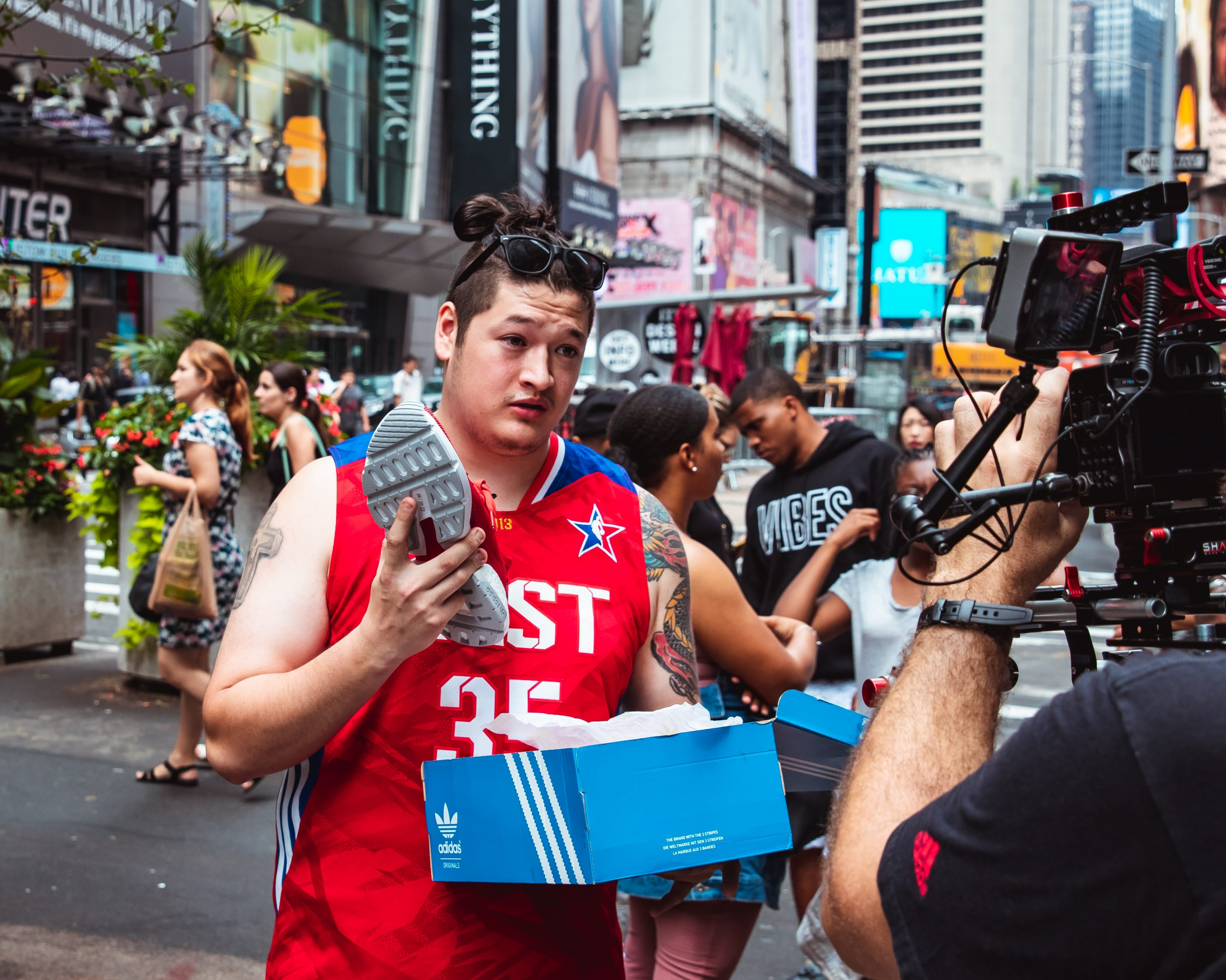 Adidas Sneaker Launch Experiential Marketing Campaign