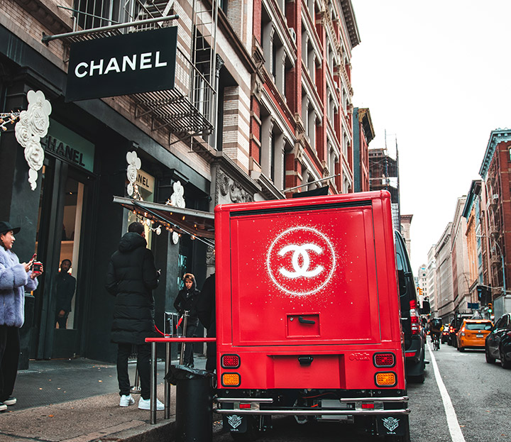 Chanel brand activation example