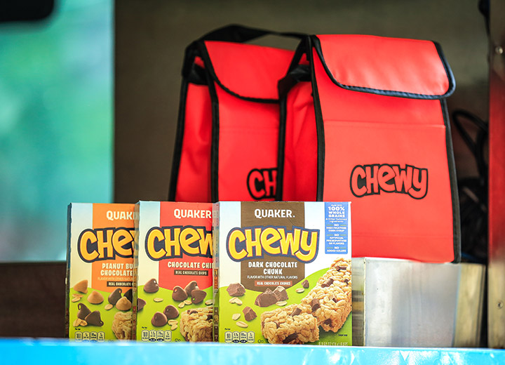 Chewy Custom Packaging Sample
