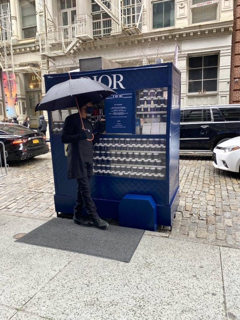 Dior Soho Pop Up