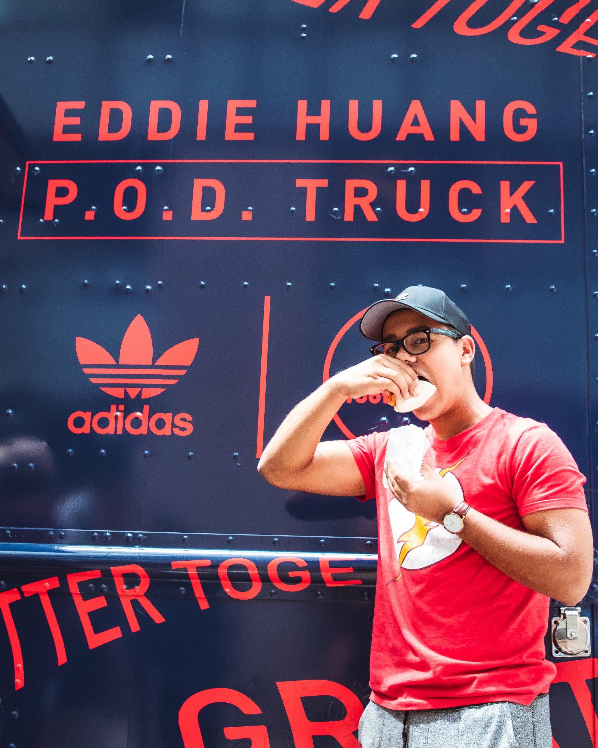 Eddie Haung POD Truck Promotion