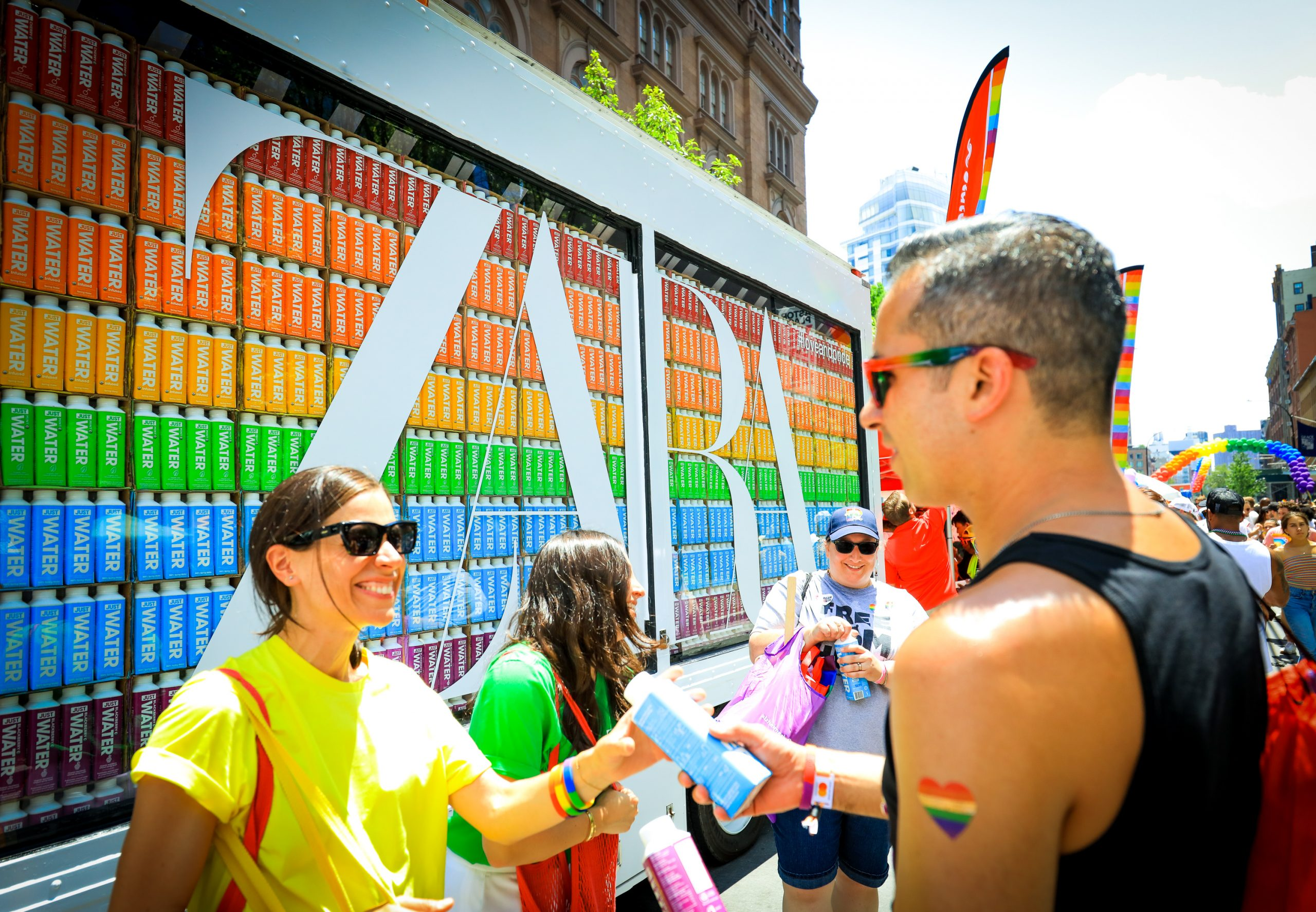 Experiential Marketing Agency NYC Zara Gay Pride Example