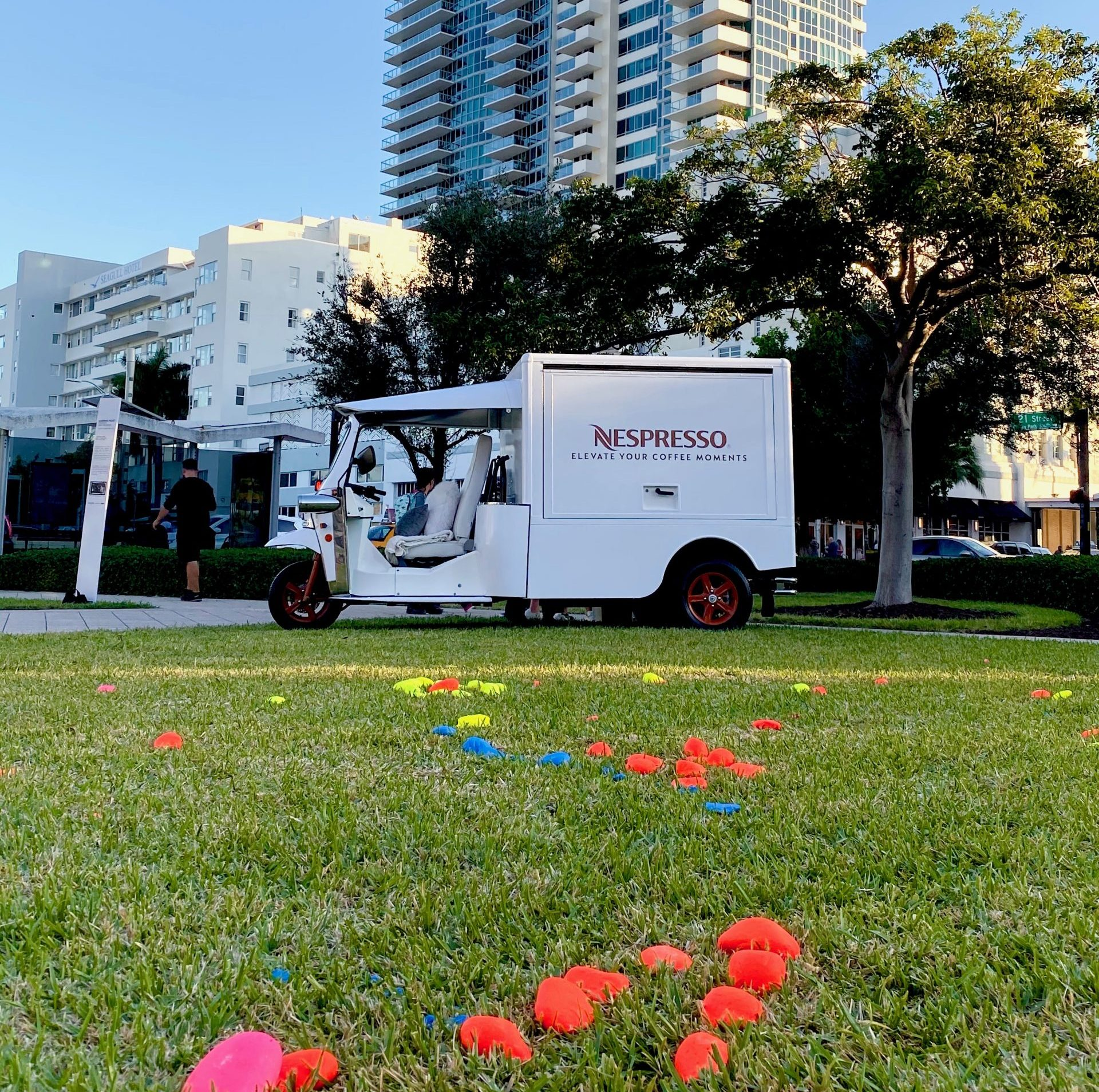 Miami Marketing Experiential Vehicle