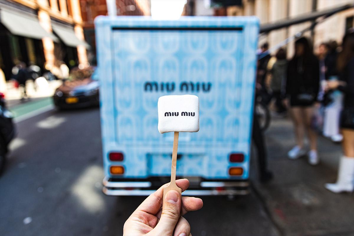 Miu Miu custom marshmallow option