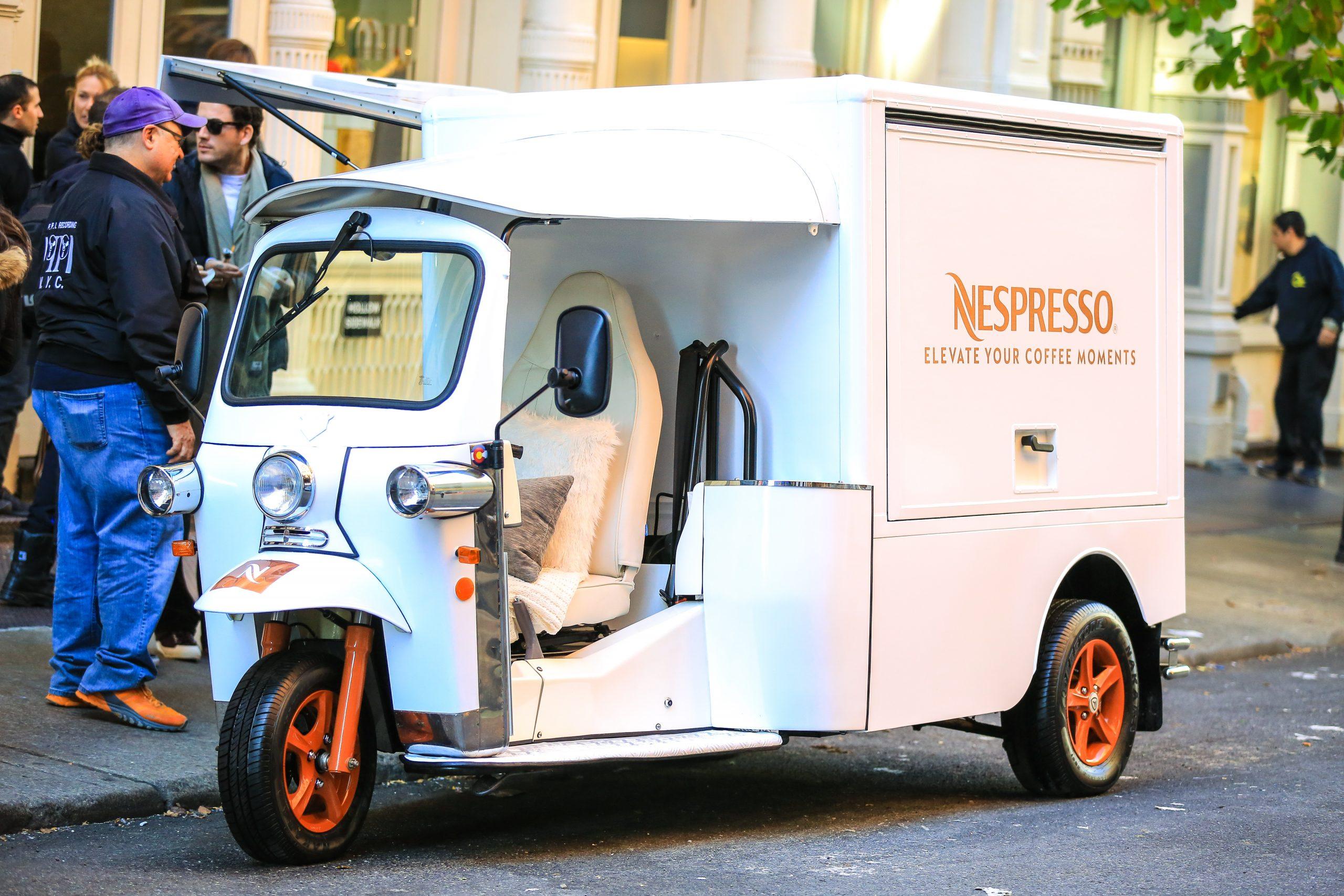 Nespresso Mobile Marketing Tour Example