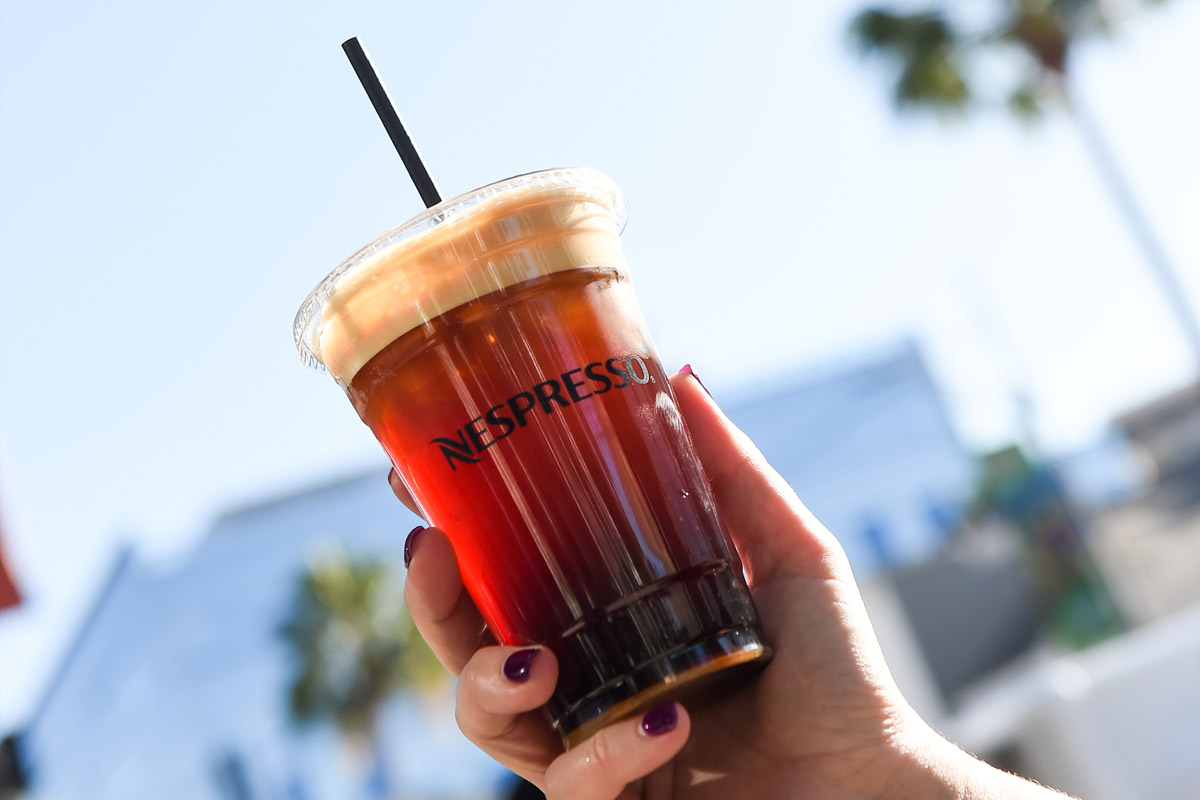 Nespresso custom cup example
