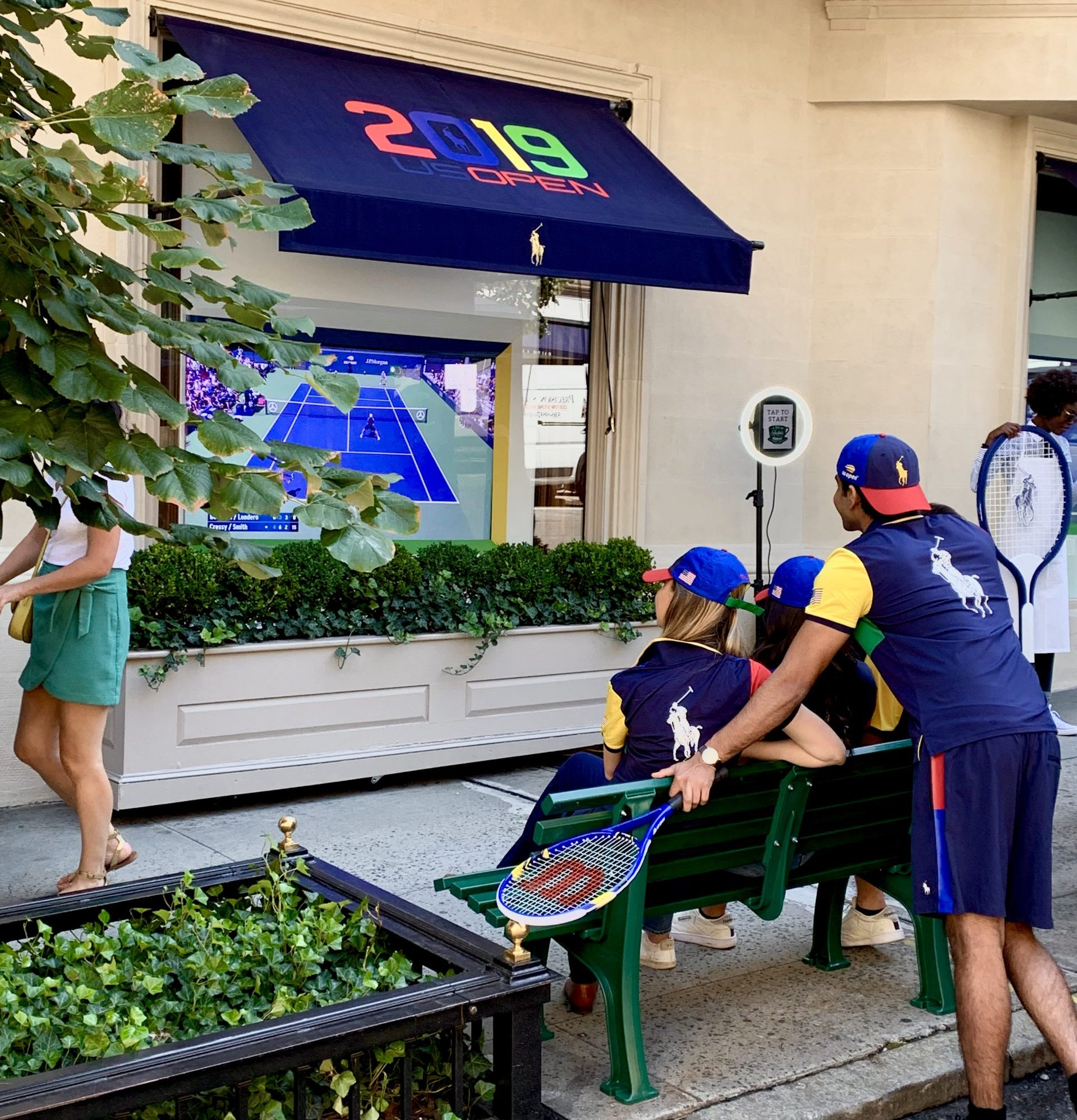 Ralph Lauren 2019 US Open Street Marketing Case Study