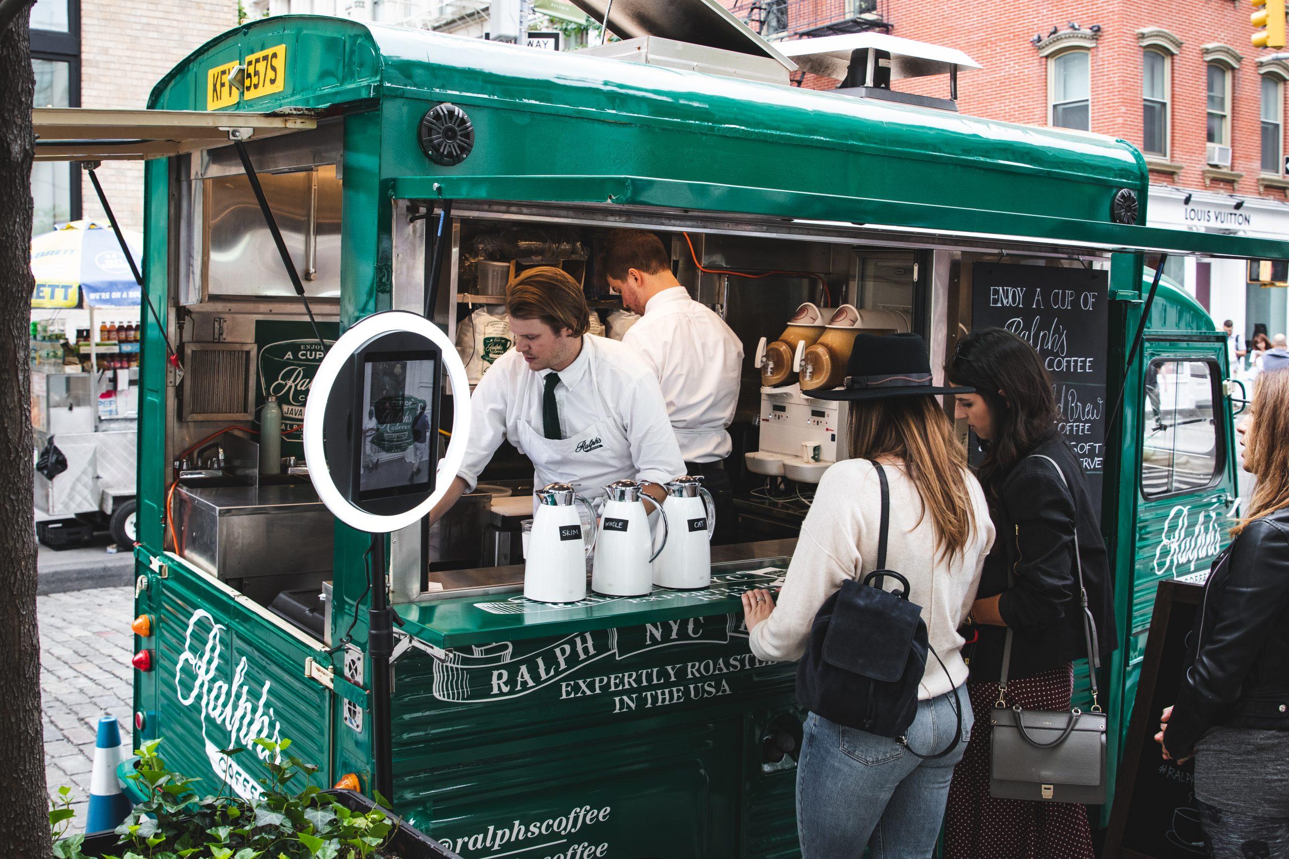 Ralph Lauren Coffee Food Truck