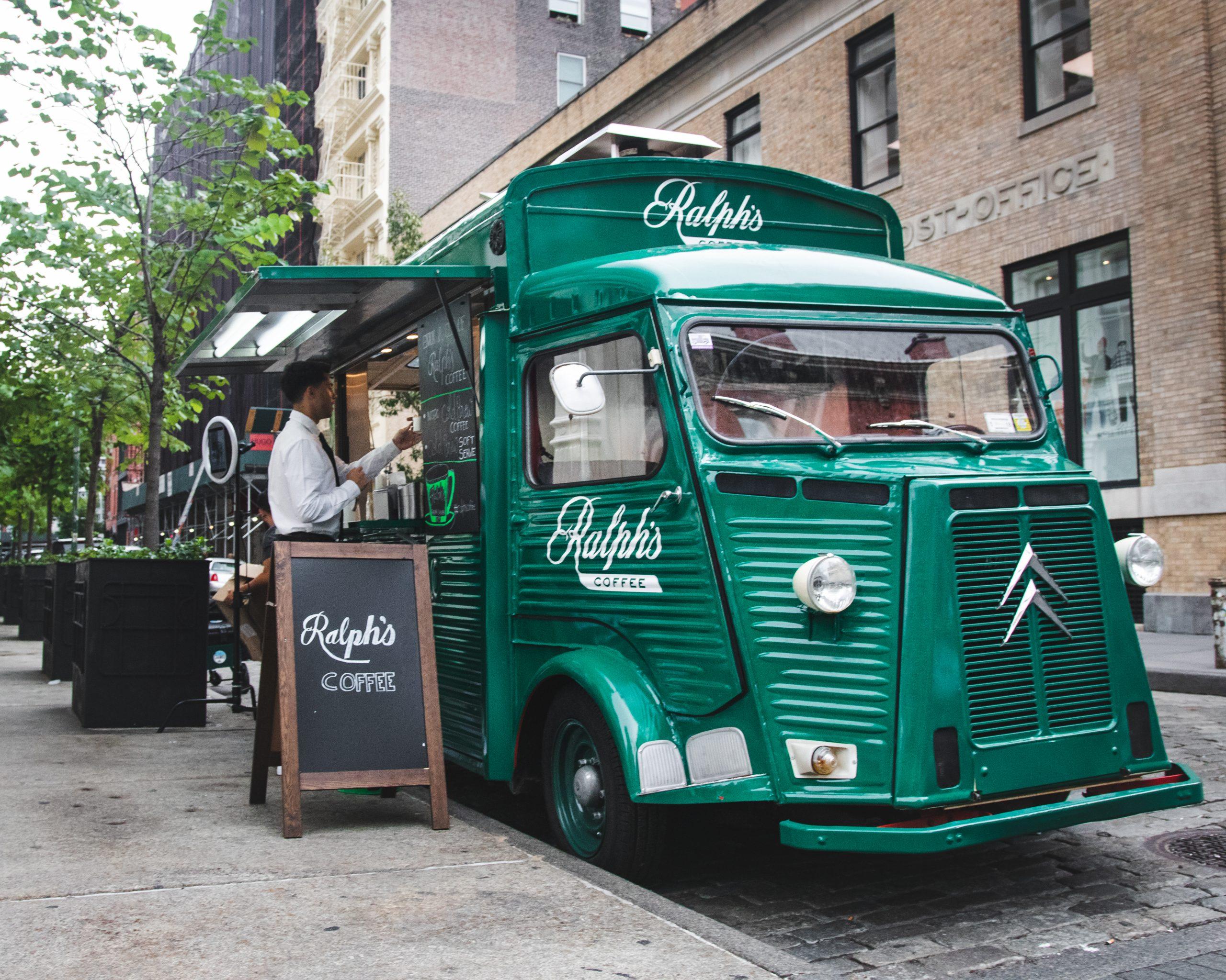 Ralph Lauren Ralphs Coffee Vintage Food Truck