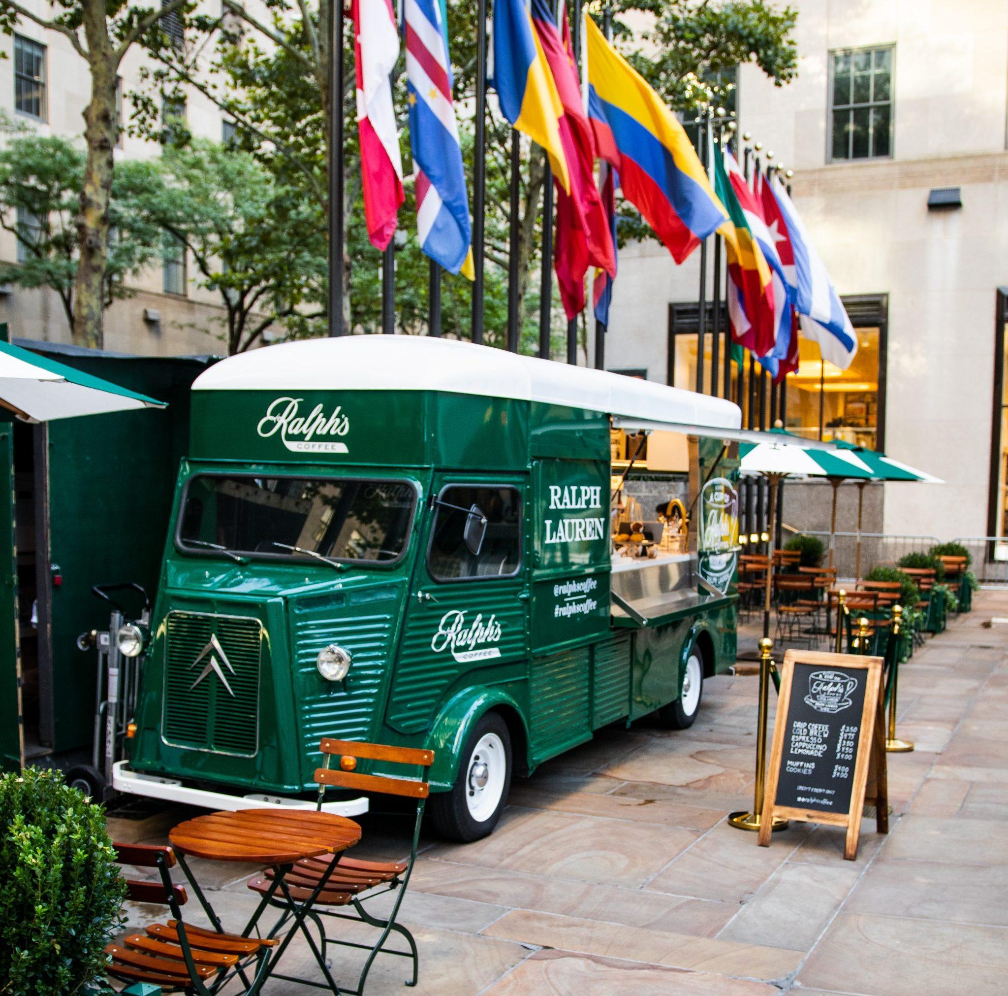 Ralphs Coffee Truck Rockefeller Center NYC