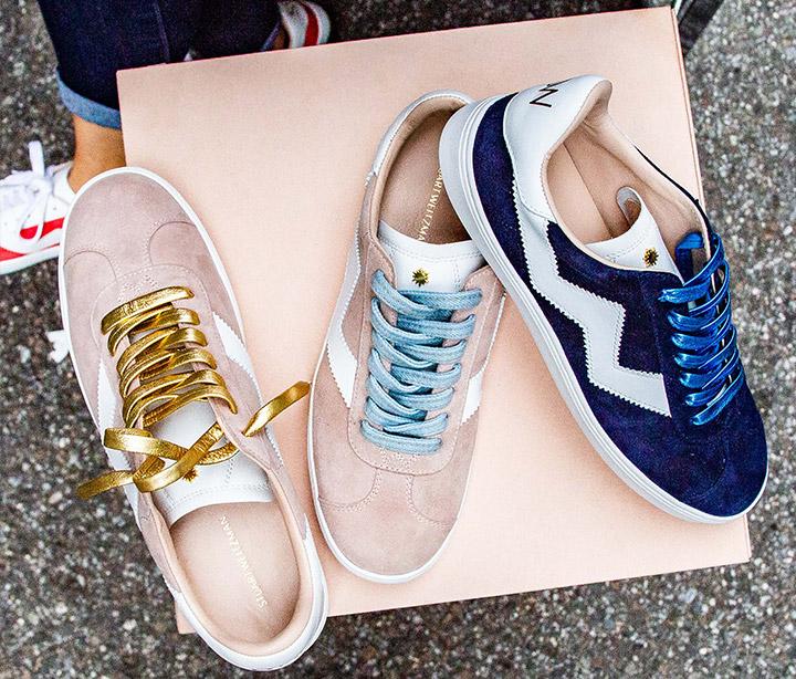 Sneaker Pop Up NYC Stuart Weitzman The Daryl Sneaker Launch Example