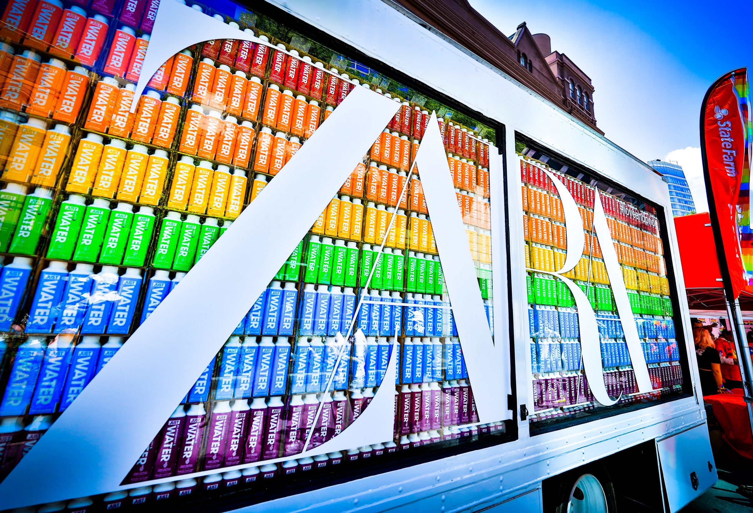 Zara Gay Pride 2019 Just Water Promotion