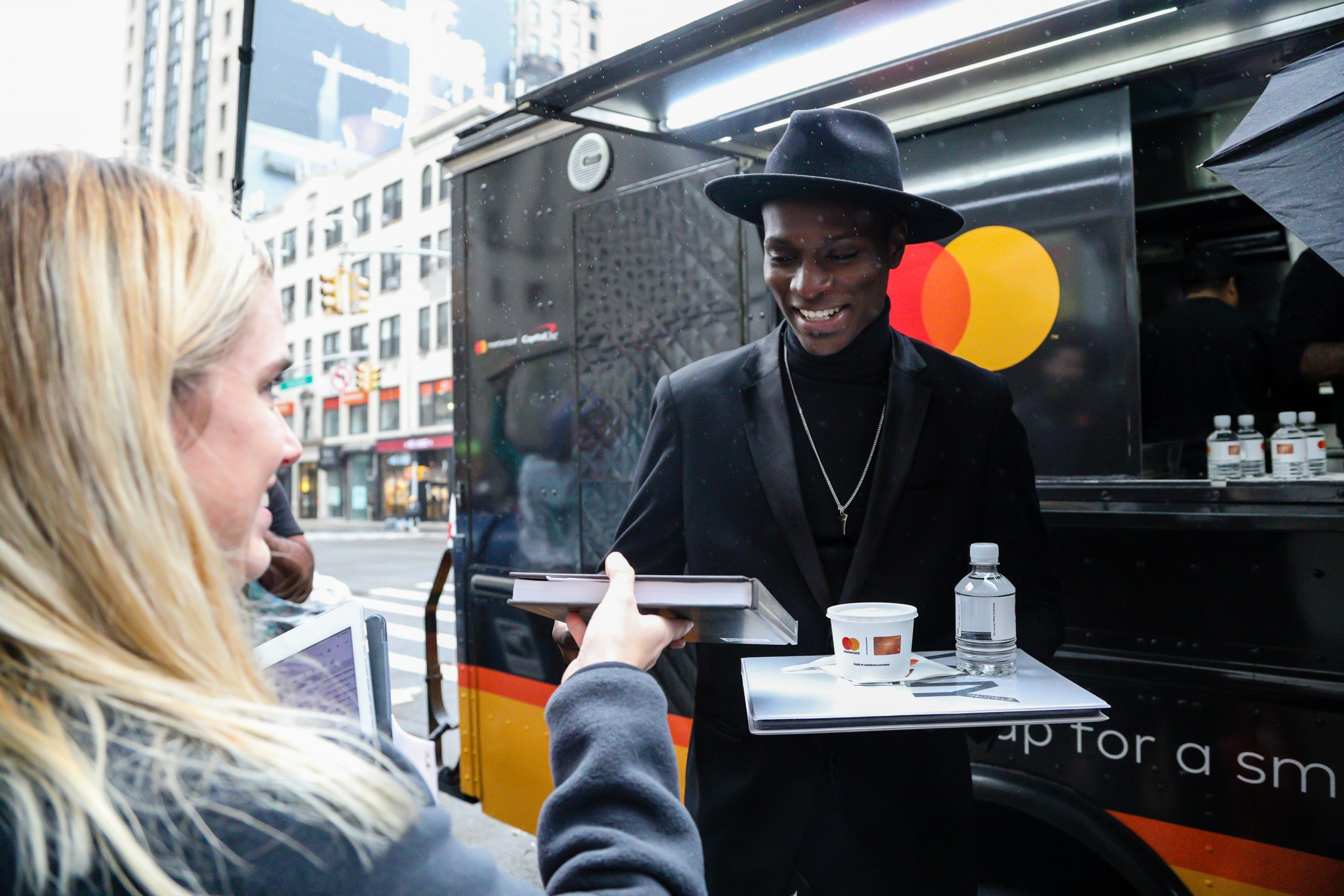 Mastercard Food Truck Guerilla Marketing