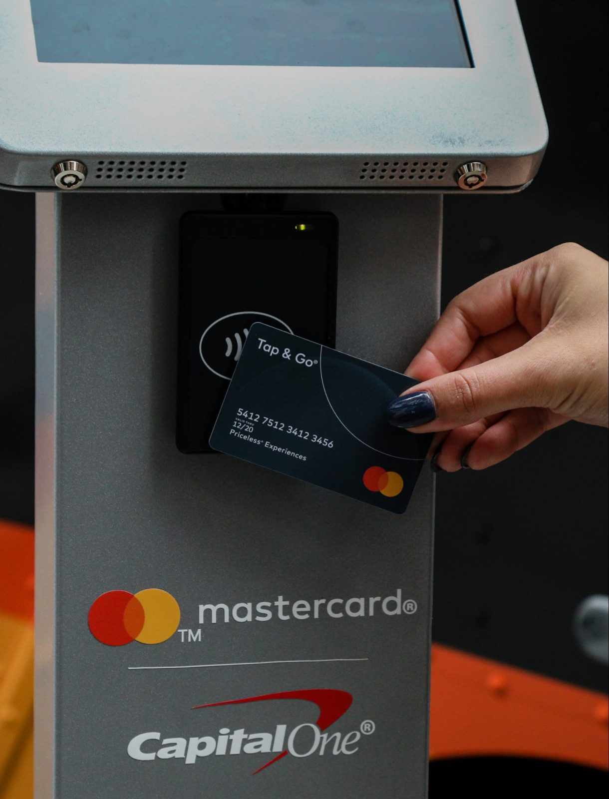 Mastercard Kiosk Street Marketing Campaign