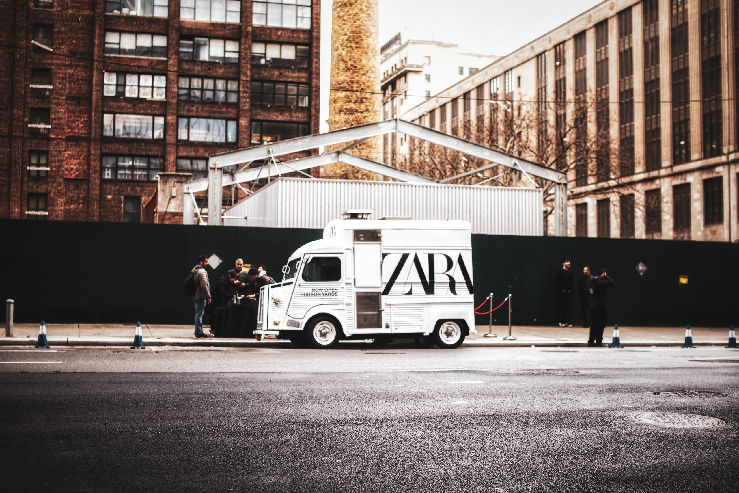 Zara Branded Vintage Food Truck