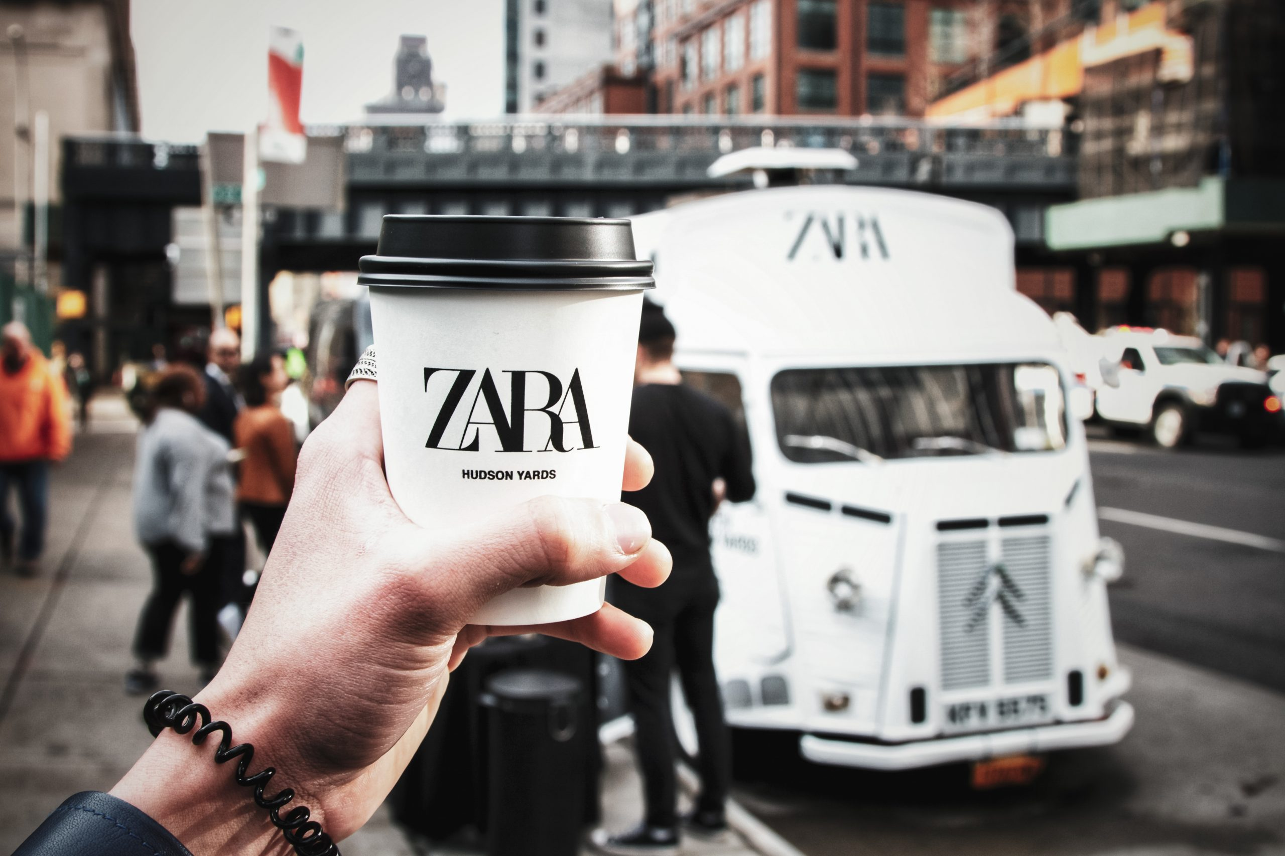 Zara Hudson Yards Coffee Pop-Up