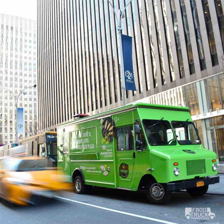 Bibigo food truck nyc