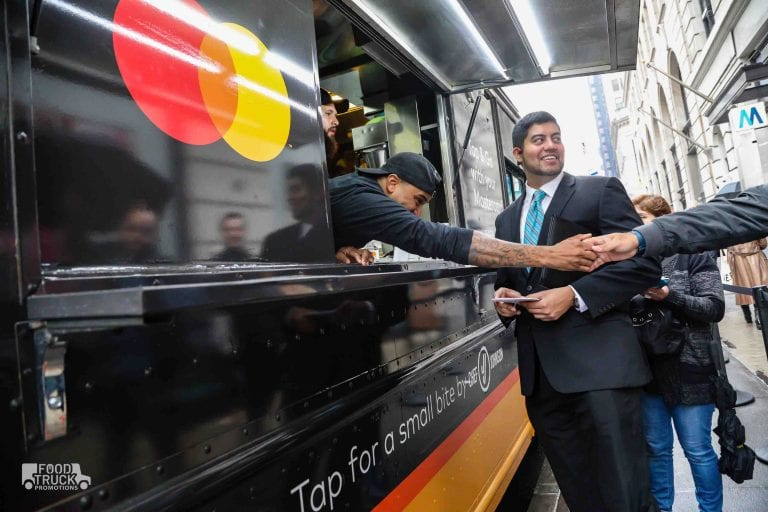 Mastercard marketing vehicle example