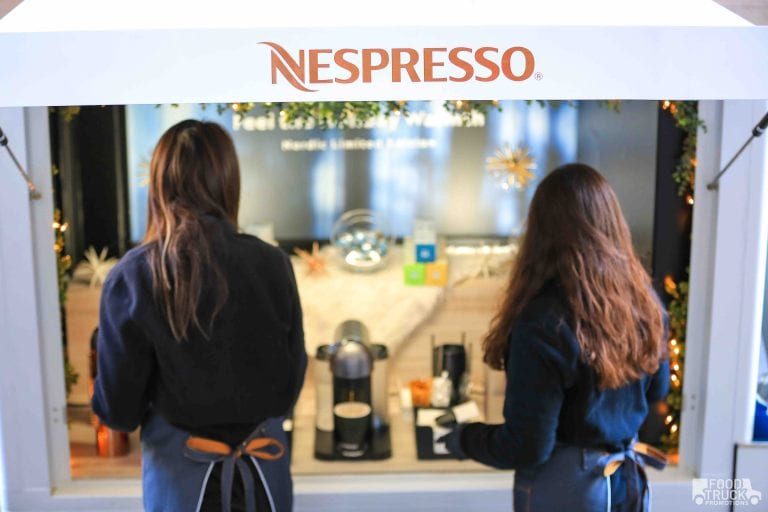 Nespresso mobile pop-up shop