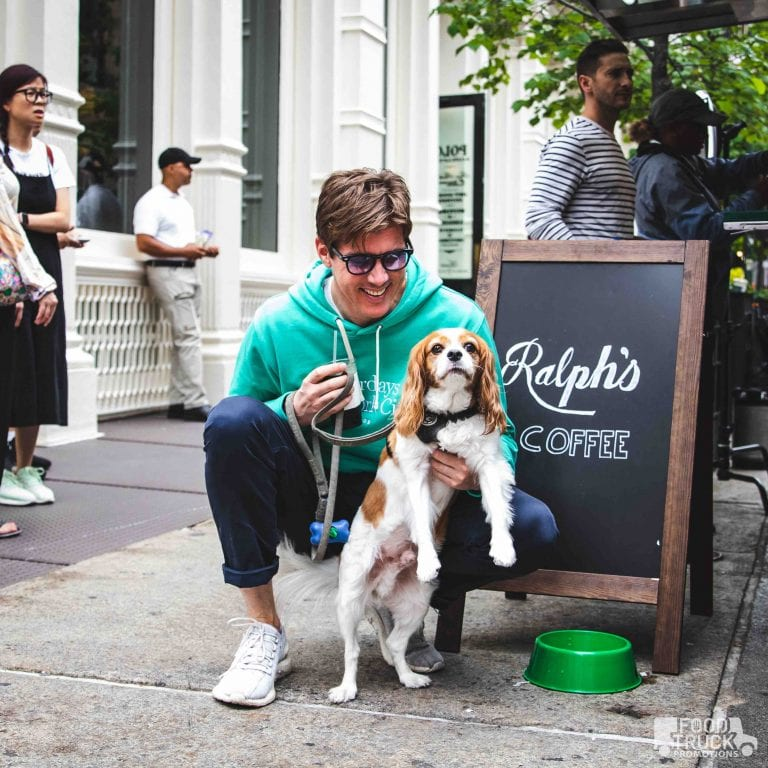 Ralphs coffee dog