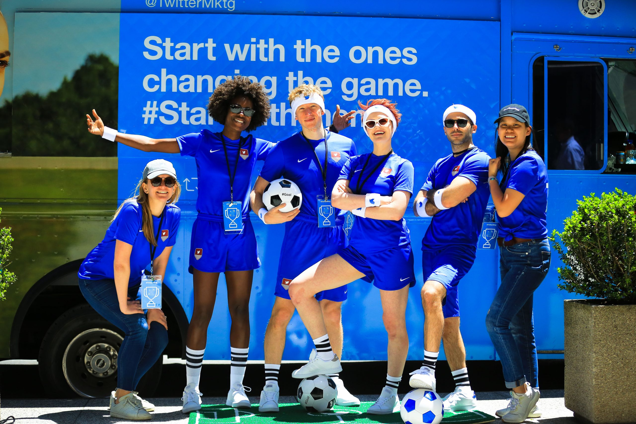 Twitter USWNT Experiential Marketing