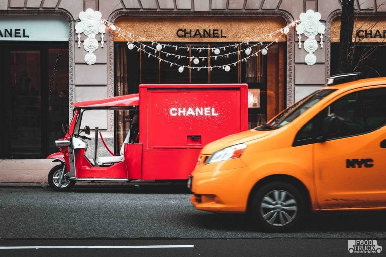 experiential marketing nyc chanel