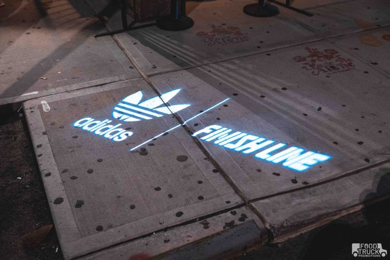 light projection marketing