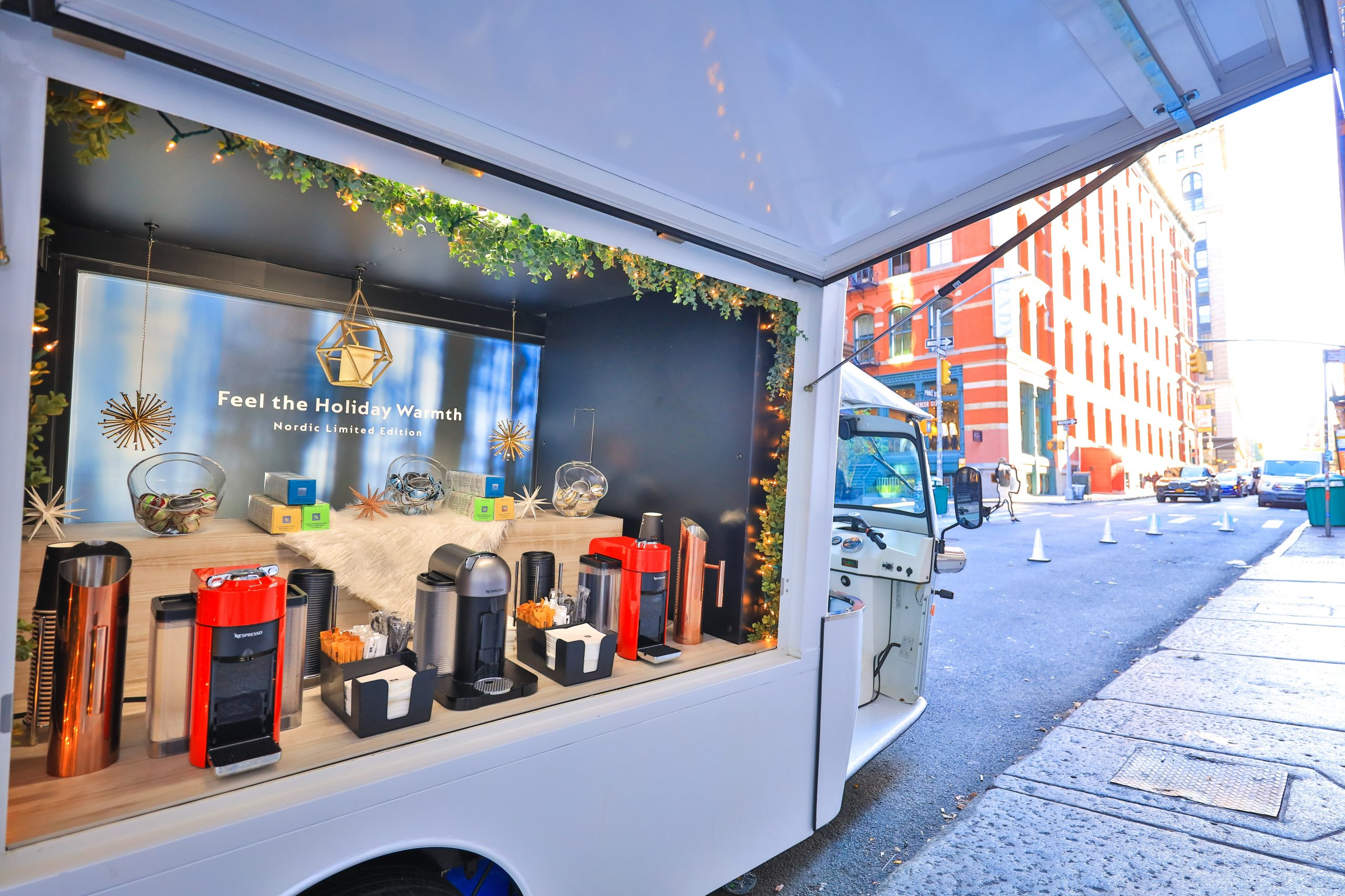 Nespresso Mobile Showroom Soho NYC