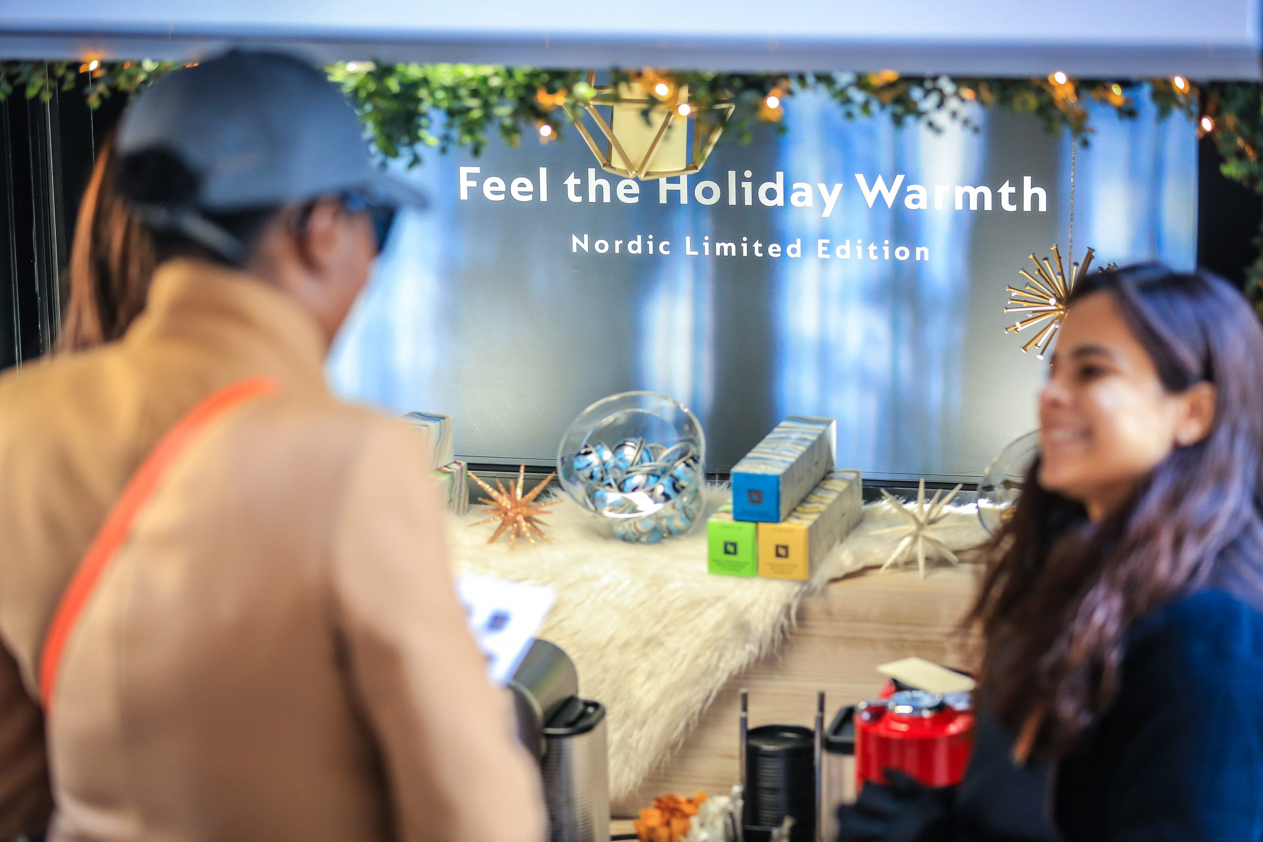 Feel the Holiday Warmth Mobile Showroom