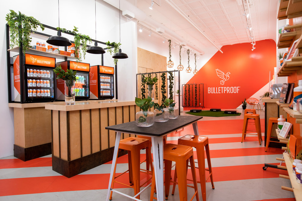 Bulletproof Wellness Pop Up