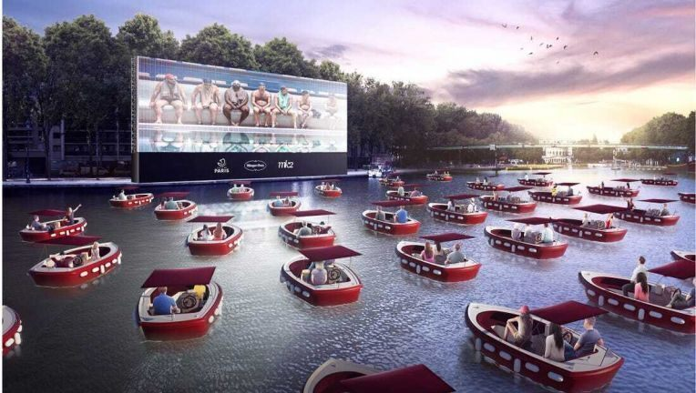 Drive-in Movie on the Water