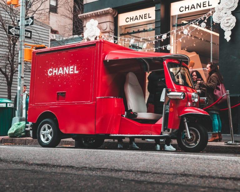 Chanel Branded Truck