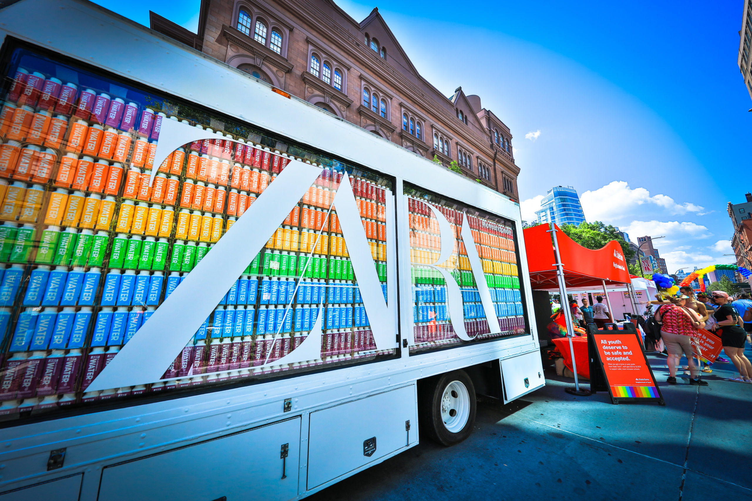 Zara World Pride NYC Truck