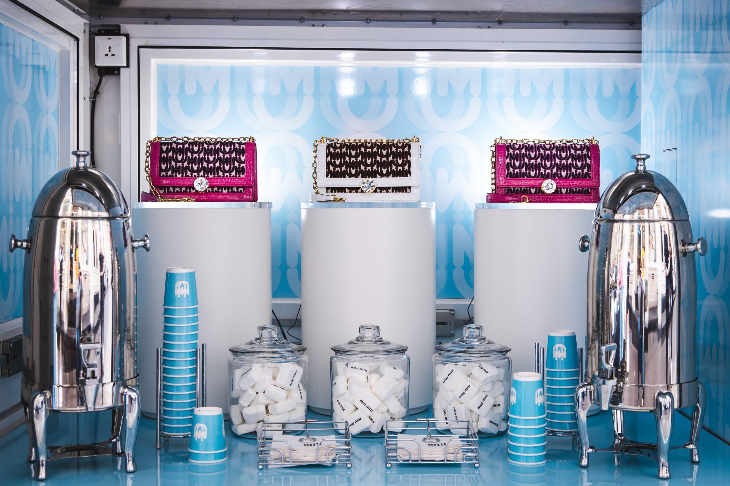 Mobile showroom Miu Miu