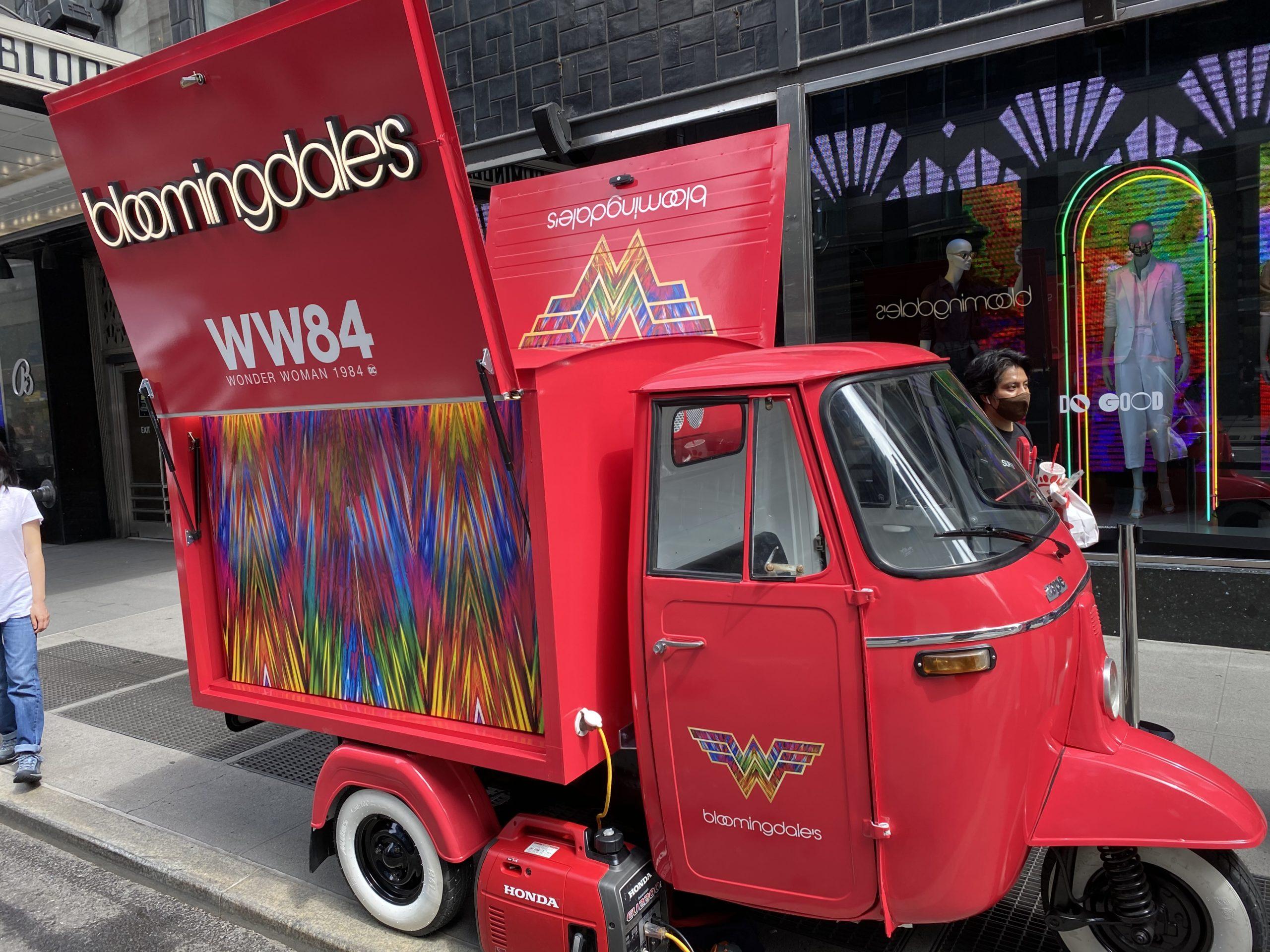 Bloomingdales WW84 Brand Activation