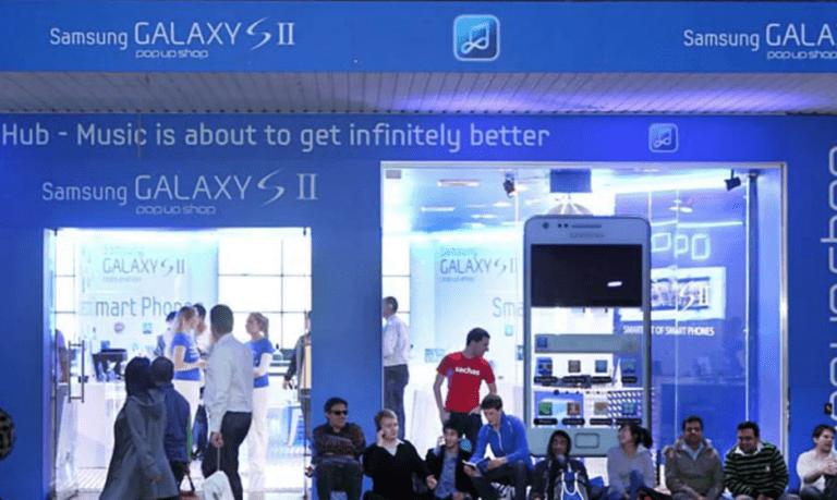 Samsung Pop Up Sydney