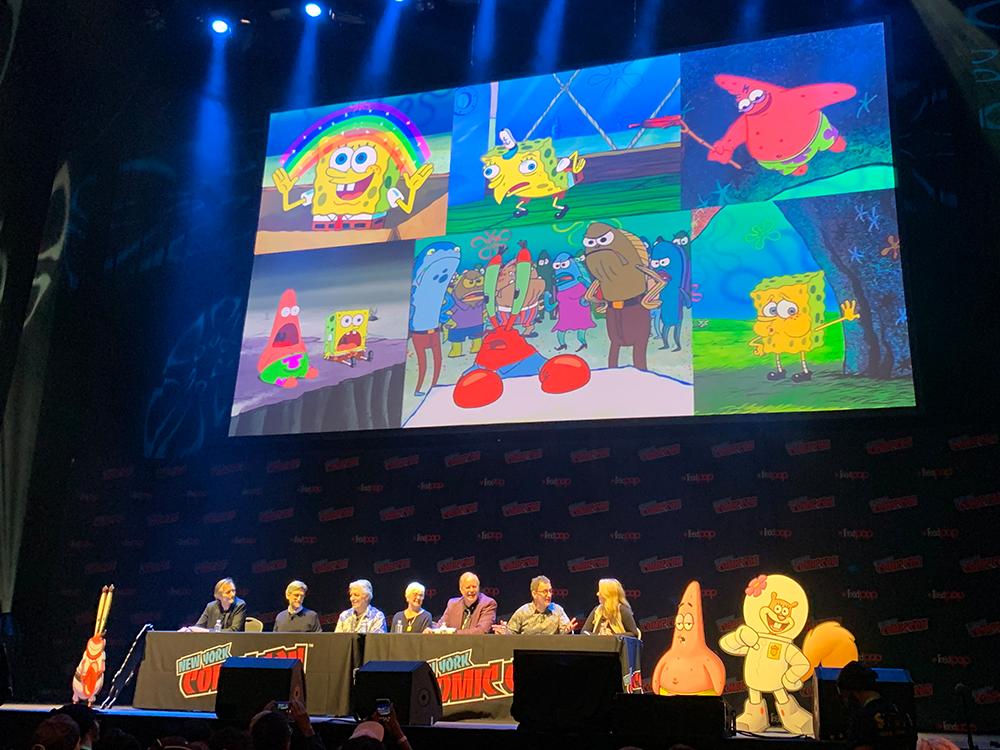 NYCC 2019 SpongeBob Appreciation Day