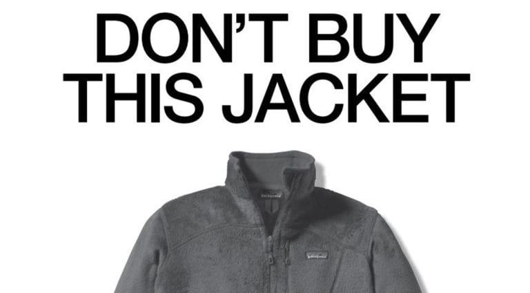 Patagonia Anti-Advertising Don't Buy This Jacket