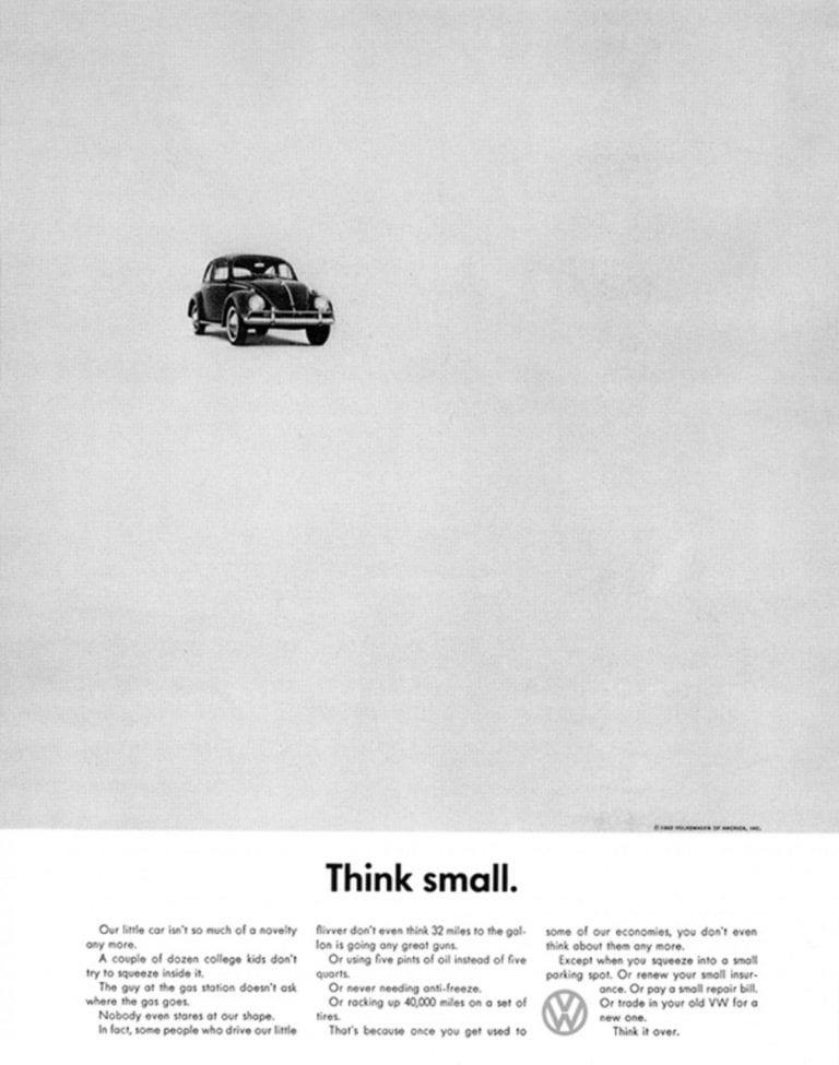Volkswagen Anti-Advertising Campaign
