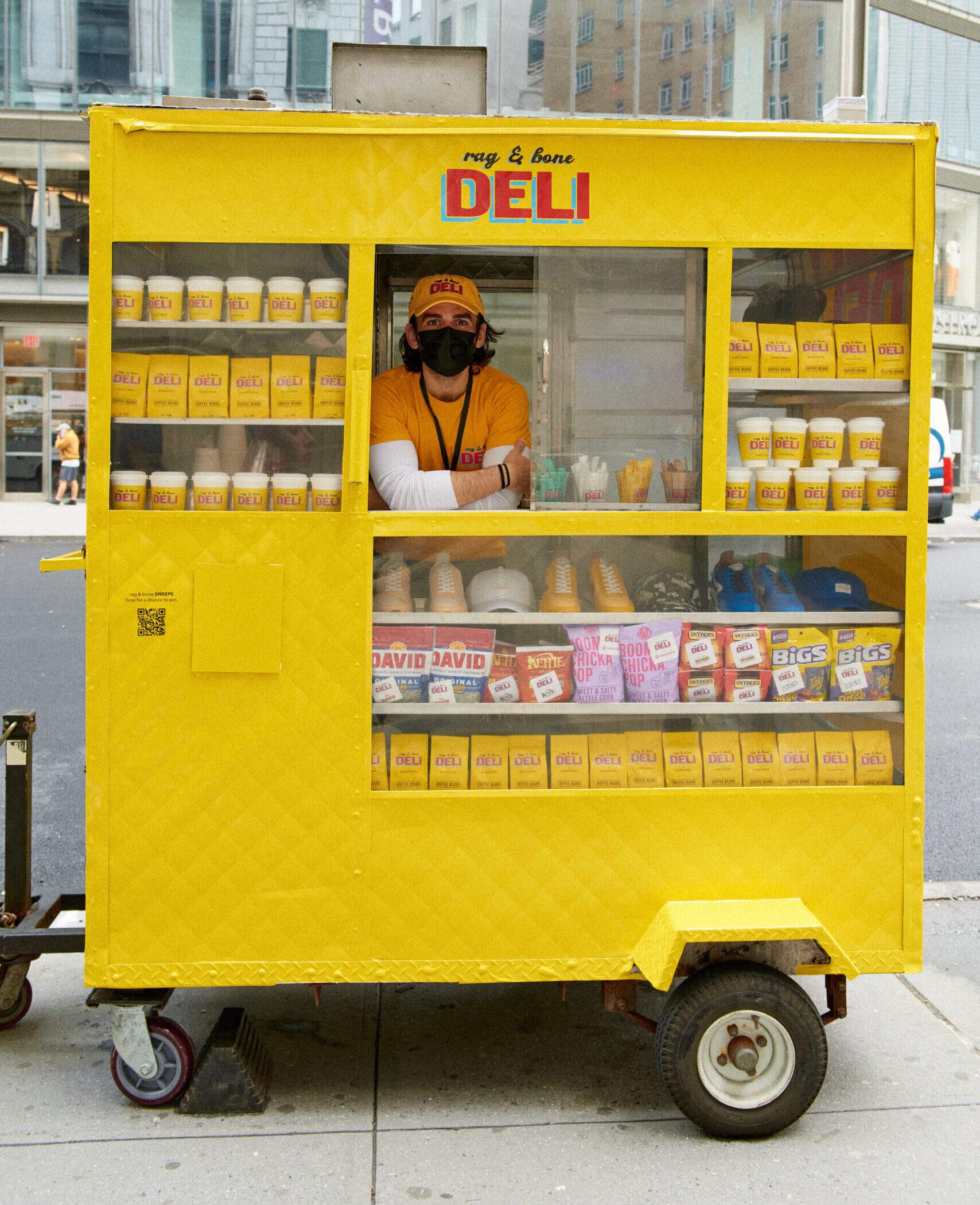 NYC Experiential Marketing Rag & Bone Deli