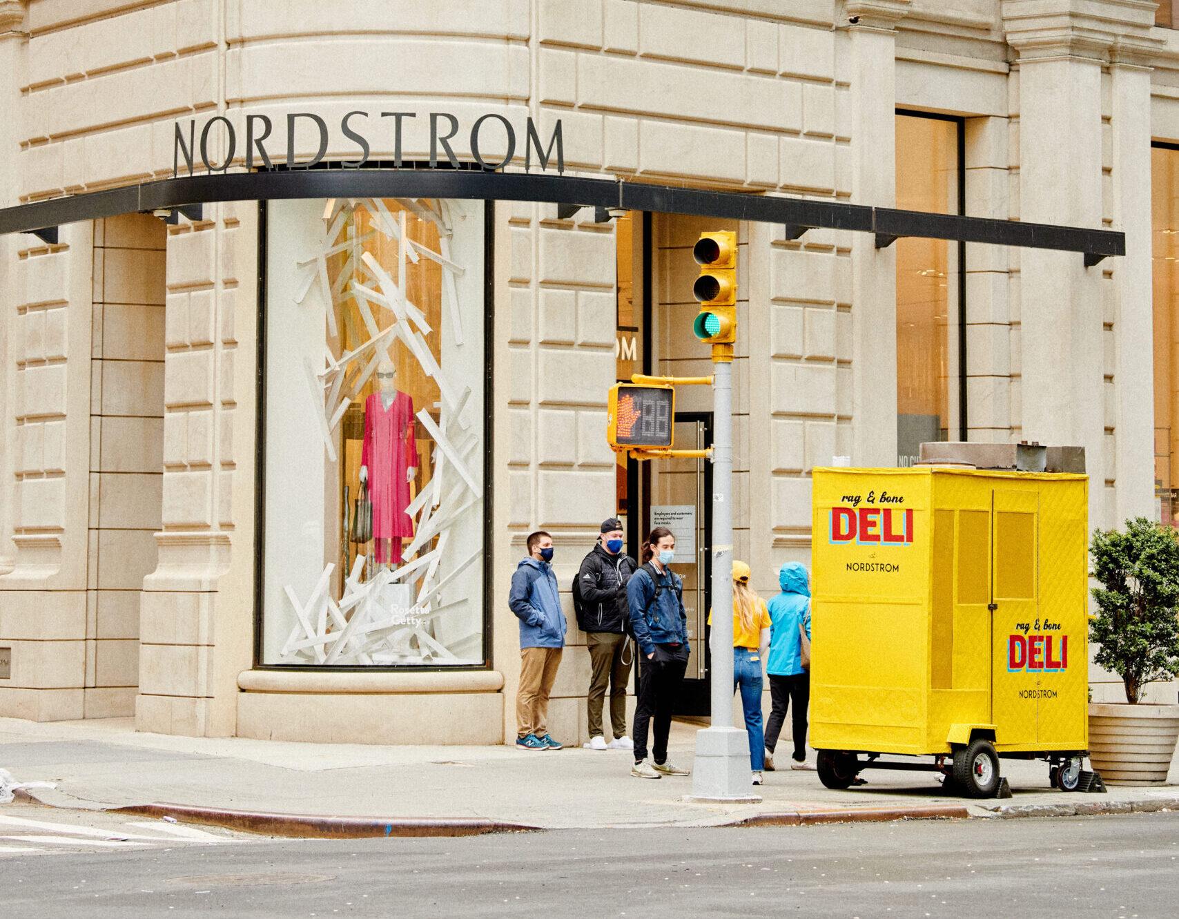 Nordstrom Rag & Bone Deli Pop Up Experiential Marketing Activation