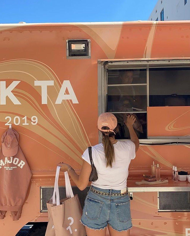 Patrick Ta Beauty Mobile Pop-Up Shop Food Truck in LA